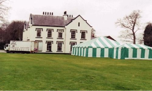 Marquee in Hotel Grounds