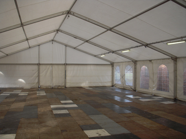 Marquee Hire - For temporary storage solutions