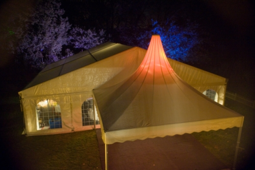 Marquee hired for evening business launch